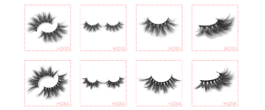 25mm 3d mink lashes HG003-004