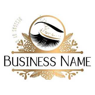 lashes name logo design and logo vendor emma lashes