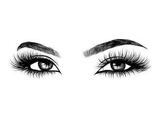 lashes logo and eyelash logo and mink lashes logo wholesale 3d mink lashes(53)