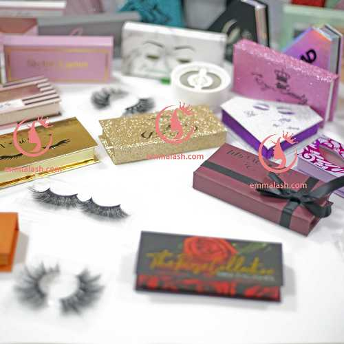 eyelash custom box