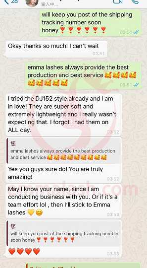 Emma Lashes Review