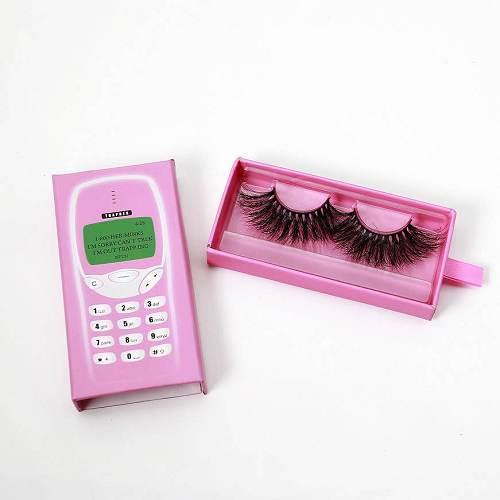 telephone eyelash drawer packaging