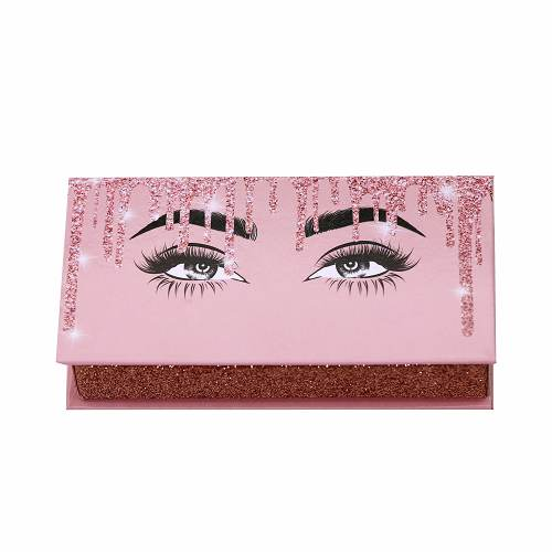 pink eyelash packaging box