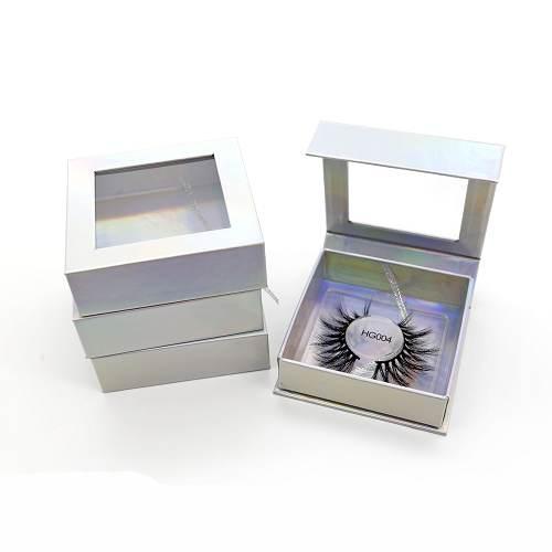 wholesale holographic eyelash box