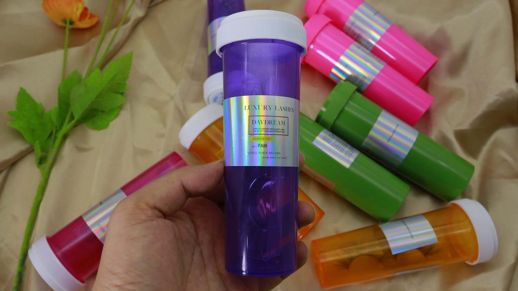 pill eyelash cases