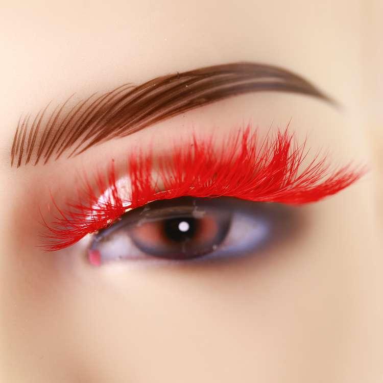 Wholesale colorful mink eyelashes CD18