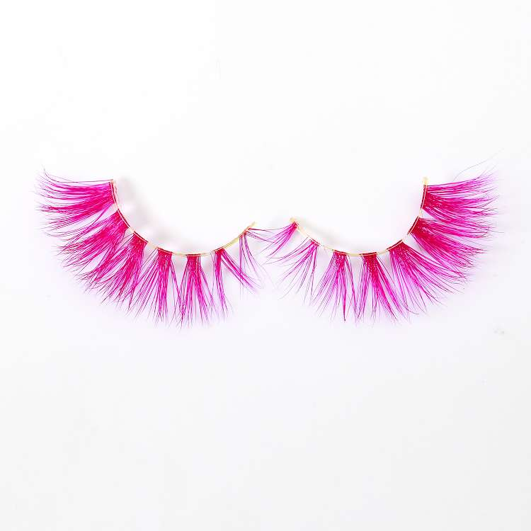 wholesale colored lashes CD87