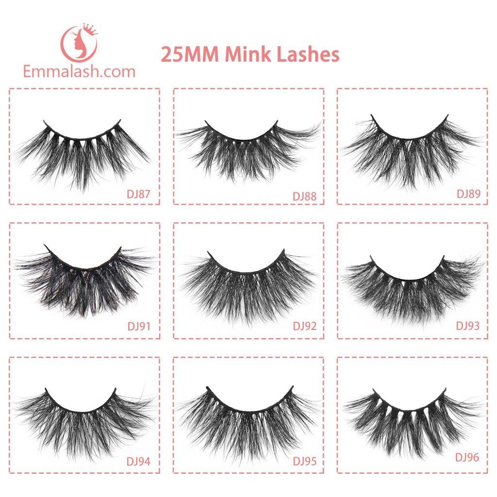 luxury 3d mink lashes catalog